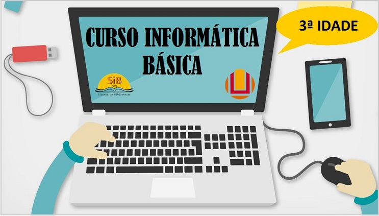 Inscrições para o curso de Informática Básica para Comunidade da Terceira Idade